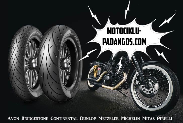 Motociklų padangos tiesiai iš gamintojų be tarpininkų