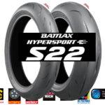 Bridgestone s22 moto padangos