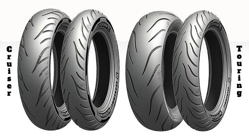 Moto padangos Michelin Commander 3