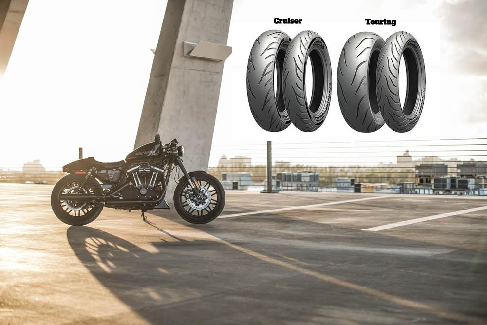Michelin Commander III moto padangos